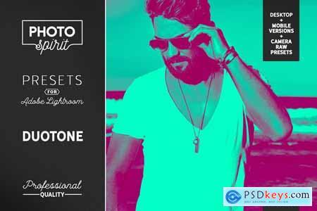 Duotone LR Presets Mobile + Desktop