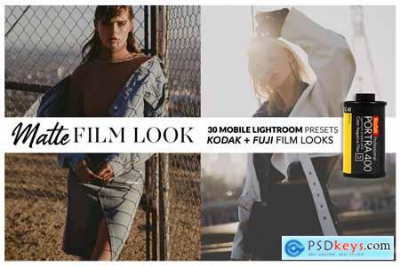 MATTE FILM Mobile Lightroom Presets
