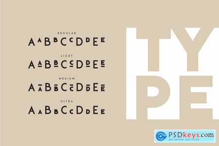 Klark Sans serif font family