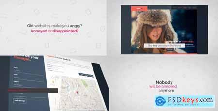 Videohive Corporate Kinetic Website Trailer Presentation Free