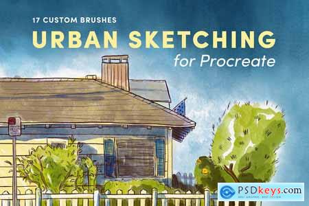 Urban Sketching – Procreate Brushes