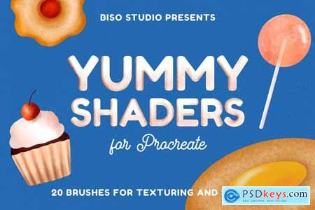 Yummy Shaders for Procreate
