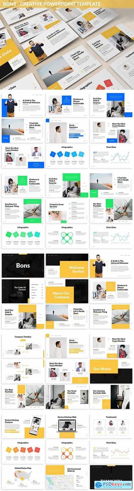 Bons - Creative Powerpoint Template