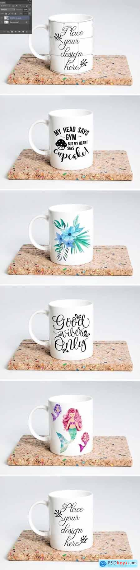 Coffee Mug Mockup 11 Oz Sublimation Cup