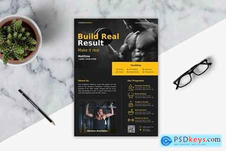 Fitness Flyer Template Vol. 1