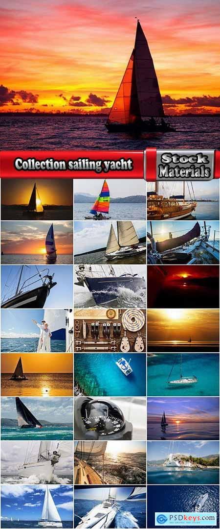 Collection sailing yacht mast sail rope rope sea water nature recreation 25 HQ Jpeg