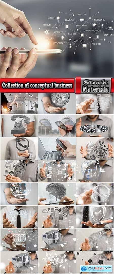 Collection of conceptual business real estate gadget technology projection 25 HQ Jpeg