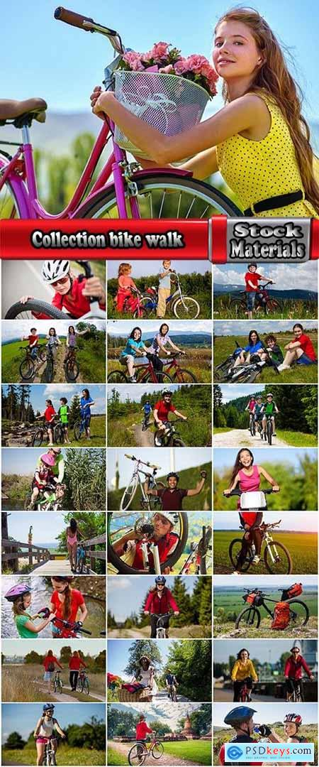 Collection bike walk nature air sport retro bike girl wheel 25 HQ Jpeg
