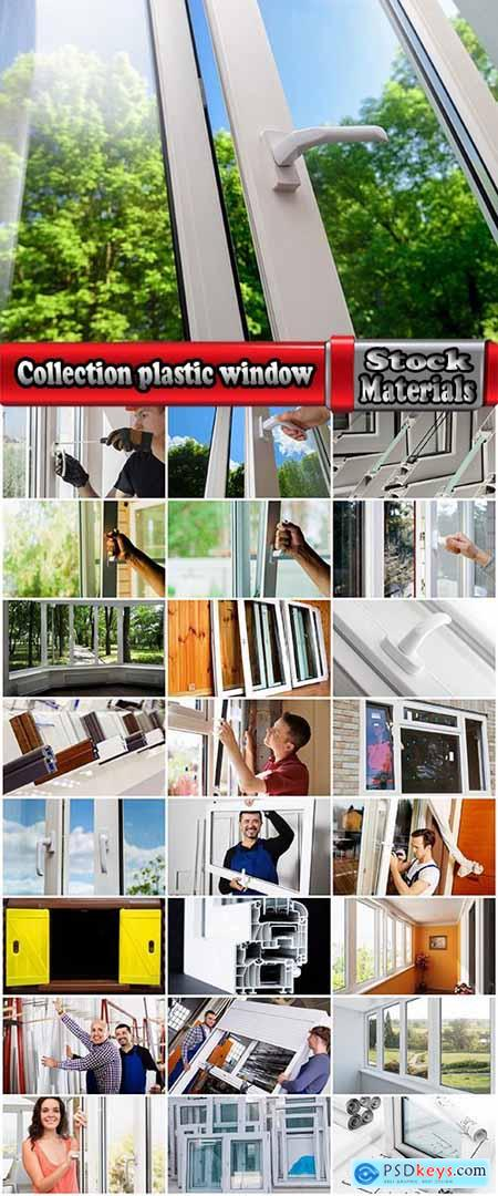 Collection plastic window showcase plug-in frame production installation master 25 HQ Jpeg