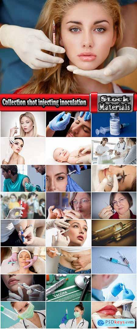 Collection shot injecting inoculation facelift botox 25 HQ Jpeg