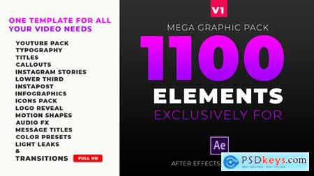 Videohive Mega Graphics Pack Free