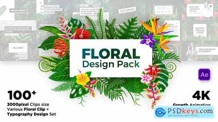 Videohive Floral Design Pack Free