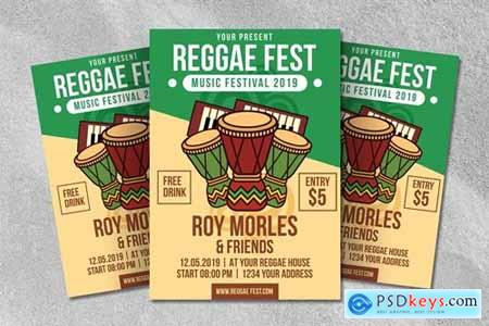 Reggae Fest Flyer Template