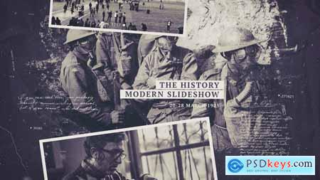 Videohive The History Slideshow Free
