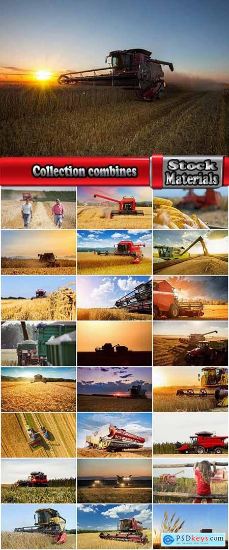 Collection combines and agricultural machinery 3-25 UHQ Jpeg