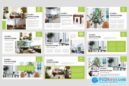 Interieur - Interior PowerPoint