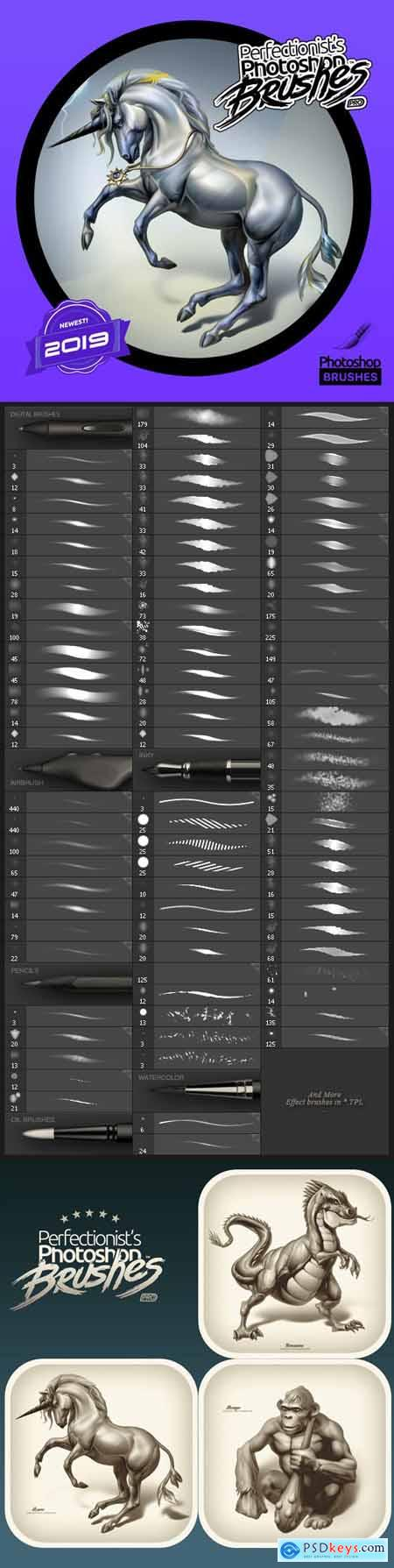 Photoshop Perfectionist Brushes II Art KIT