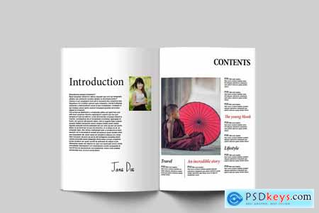 ATLAS, Lifestyle Magazine Template