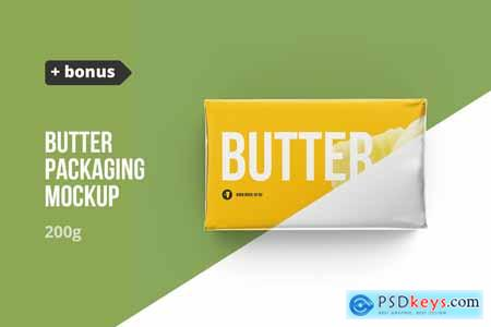 Butter 200g. Pack 4 in 1 + bonus