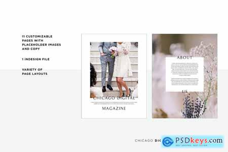 Chicago Digital Magazine Template