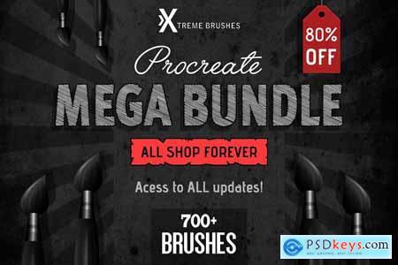 Procreate MEGA BUNDLE
