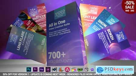 Videohive 700 Video Creation Suite V2 - Transition Free