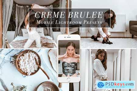 Mobile Lightroom Preset CREME BRULEE