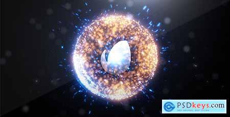 Videohive Spherical Logo Intro Free