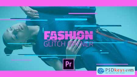Videohive Fashion Glitch Opener Free