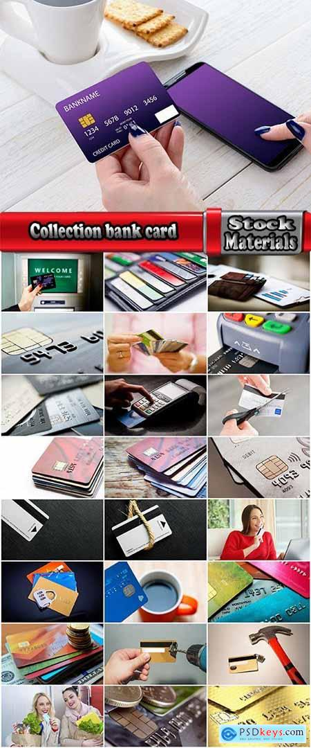 Collection bank card electronic payment ATM terminal electronic money 25 HQ Jpeg