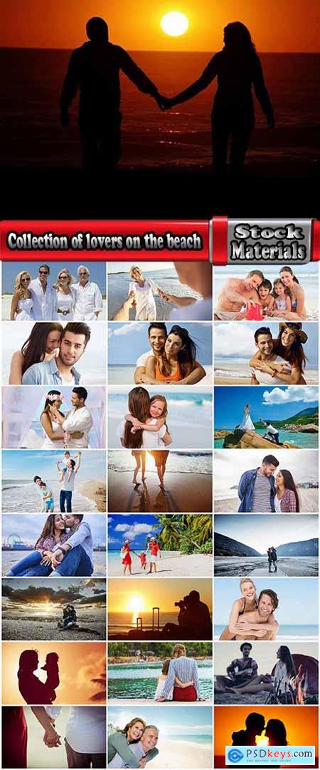 Collection of lovers on the beach family couple sea coast holiday vacation 25 HQ Jpeg