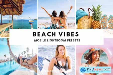 Beach Vibes Mobile Lightroom Presets