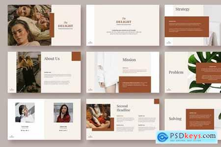DELIGHT - Powerpoint and Keynote Template
