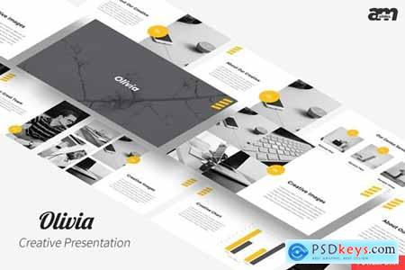 Olivia - Powerpoint, Keynote, Google Slides Templates
