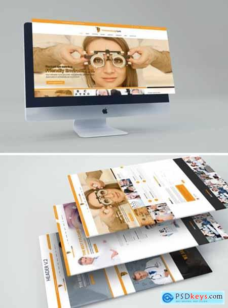 EyeDoctor - Eye Specialists PSD Template