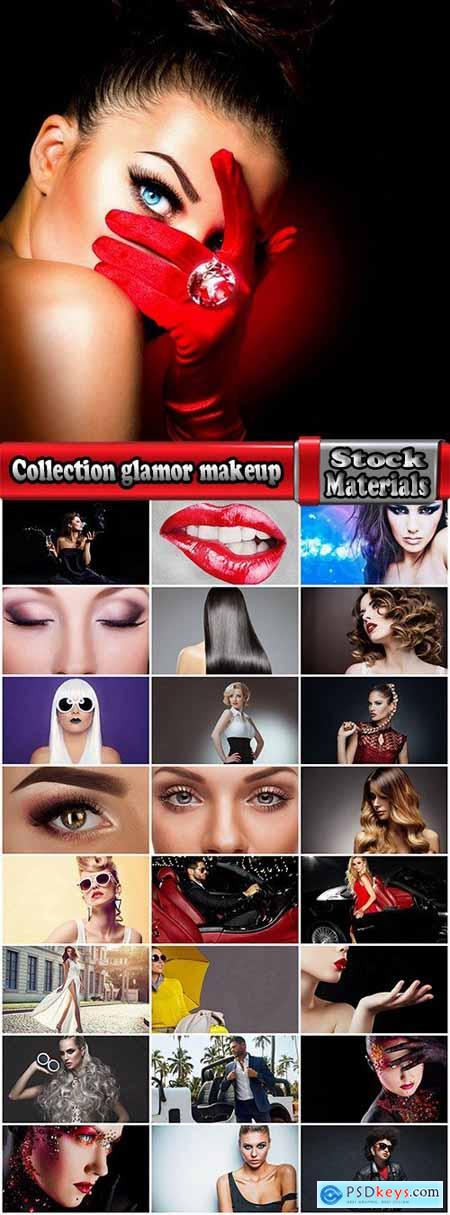 Collection glamor makeup beauty fashion model female accessories 25 HQ Jpeg