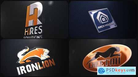 Videohive Company Logo V01 Shiny Realistic Free