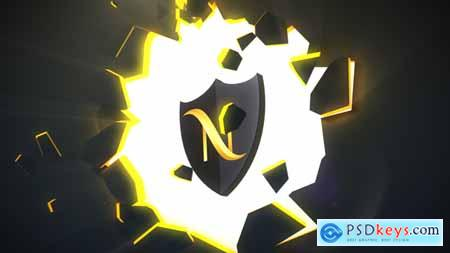 Videohive Broken Wall Logo Reveal Free