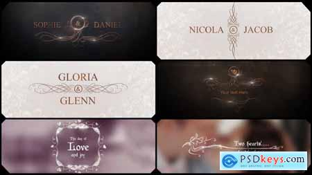 Videohive Glamour Wedding Titles Free