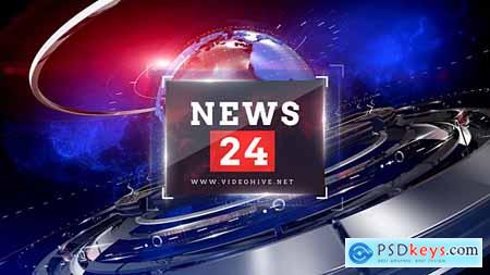 Videohive News 24 (Broadcast Pack) Free