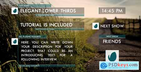 Videohive Clean Lower Thirds Free