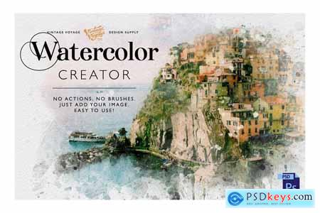 Watercolor Creator
