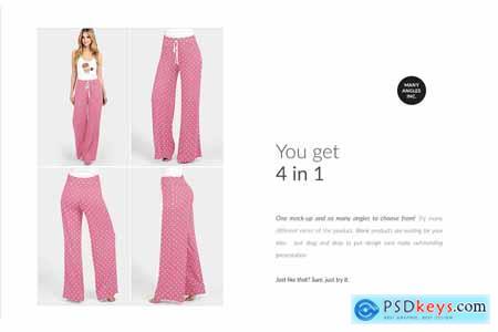 Lounge Pants Mock-ups Set