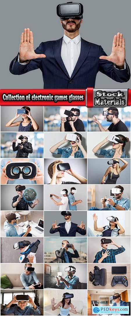 Collection of electronic games glasses technology 25 HQ Jpeg