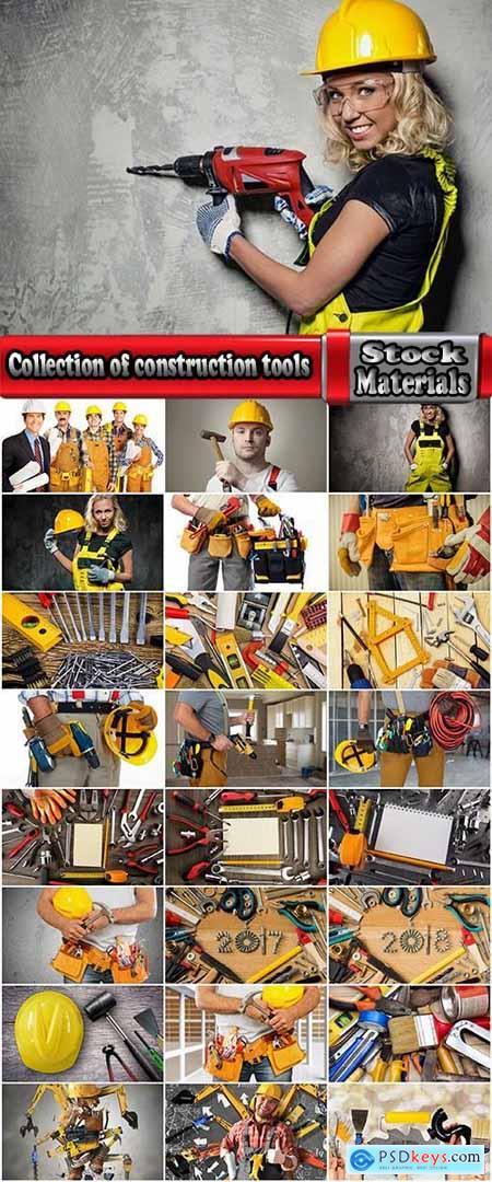 Collection of construction tools construction worker master inventory 25 HQ Jpeg