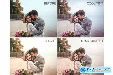 Boho wedding Lightroom presets