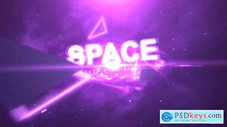 Videohive Space Text