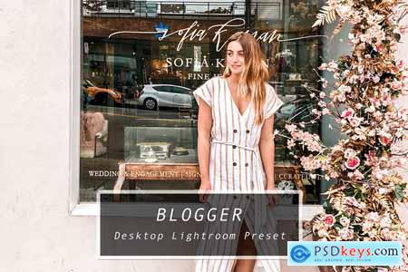 Desktop Lightroom Preset BLOGGER