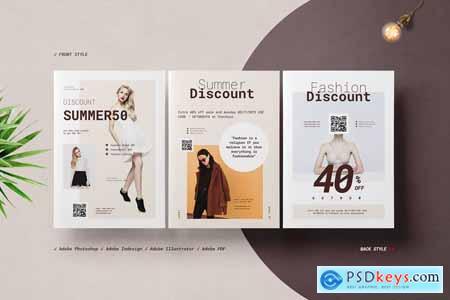 Fashion Postcard Flyers