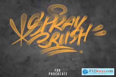 Procreate Graffiti Brush Set